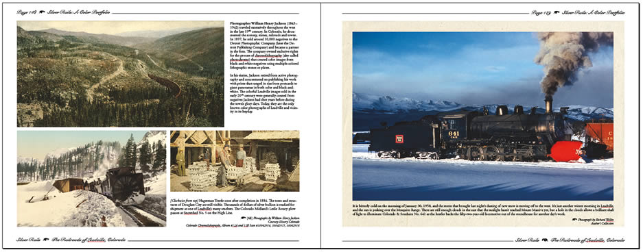 Silver Rails: The Railroads of Leadville, Colorado - Click Image to Close